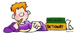 Vocabulary homework help? Yahoo Answers
